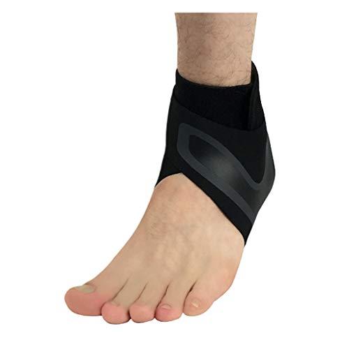 PENG Izquierda/Derecha Pies Manga Compresión Tobillera Soporte Calcetines Anti Esguince Cubierta del talón Envoltura Protectora para Hombres Mujeres Herramienta para el Cuidado de los pies
