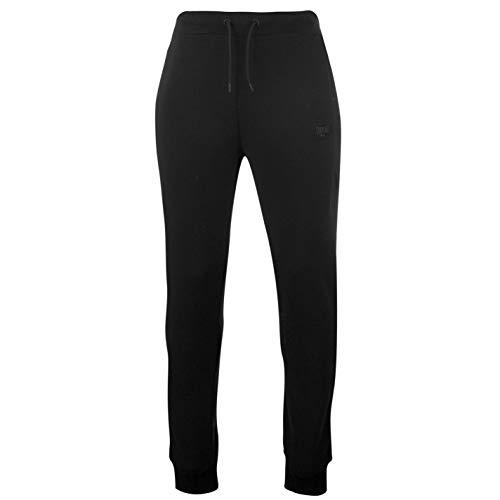 Everlast Herren Premium Jogginghose Taschen Schwarz L
