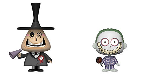 "Funko VYNL 4"" 2-Pack: Disney: NBX: Mayor & Barrel, Multicolor, 34002"