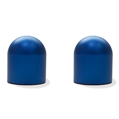 HTSM para Smart 453 451 450 Fortwo Accesorios Anti-Seguimiento para Coche, Estilo De Coche Protección Anticolisión, Decoración Automática Pegatina para Coche Decoraciones (Color : Blue Round)
