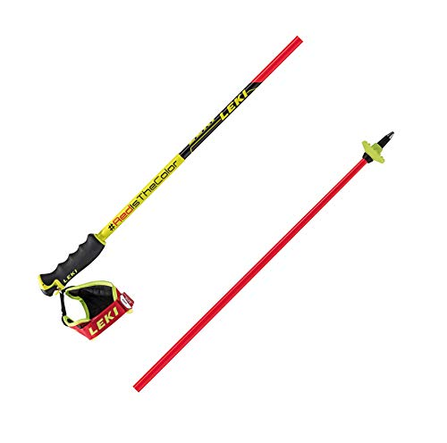 LEKI Unisex-Adult Sports Skistock, Mehrfarbig, 130