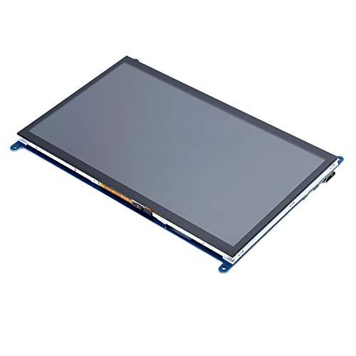 Pantalla de visualización, HD 1024 x 600 10 Pulgadas, Pantalla táctil, con función táctil, para Interruptor de luz de Fondo Raspberry Pi