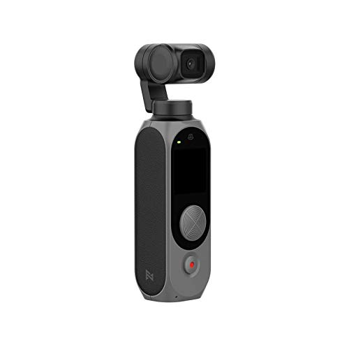 FIMI PALM 次世代ジンバルカメラ WIFI 4K 128°超広角ミニポケットカメラ100Mbps手振れ補正 電池308分間使用可能ノイズリダクションマイク顔認識スマートトラック