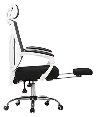 Silla de Oficina Silla de escritorio de oficina con silla de la computadora del apoyabrazos, silla de juego de juegos ergonómicos para el hogar Silla de estudio Silla de estudio Cómodo silla de oficin