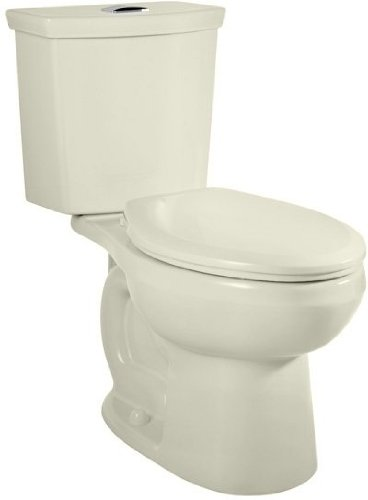 American Standard 2887.216.020 H2 Option 2-Piece Dual Flush Elongated Toilet with 12-In Rough, White