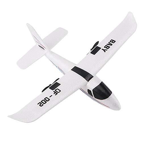 pegtopone RC Drone, langlebiges, stoßfestes ferngesteuertes Quadcopter-Fernbedienungsflugzeug RC-Flugzeug Flying Toys Spannweite mit Lichtleiste DIY RC-Flugzeug
