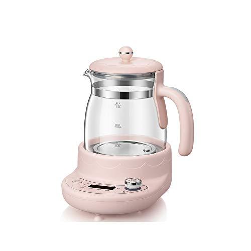 AYDQC Preservación de calor inteligente automática para bebés, calentador de leche automático de temperatura constante hervidor de agua calentador de leche regulador de leche combo