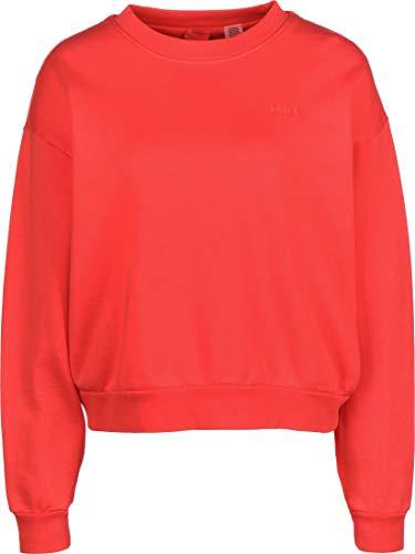 Levis Diana Crew Damen Sweatshirt, Farbe:Blau, Größe:L