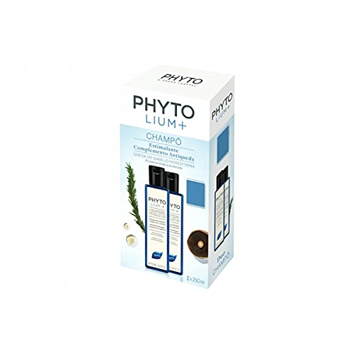 Phyto Lium + Champú Estimulante Complemento Antiqueda 2x250ml