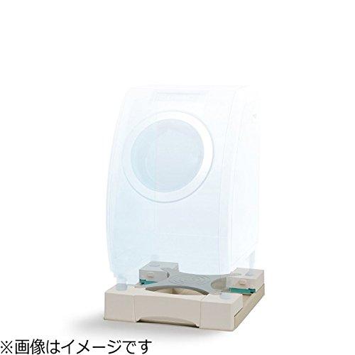 新生産業64cm角防水パン専用洗濯機かさ上げ台(ホワイト)マルチメゾンMM6-WG701