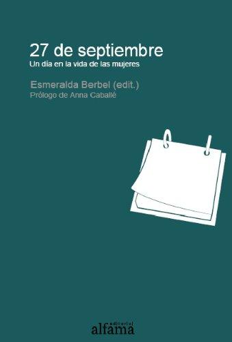 27 de septiembre Un día en la vida de las mujeres (Biblioteca del Sosiego)
