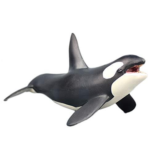 De Orca meerval Aquarium Decor, De sterkste vechter moordenaar Walvis Figuur Aquarium Ornament Vistank Landschap Kunstmatige Zee Leven Replica Decoratie Accessoires