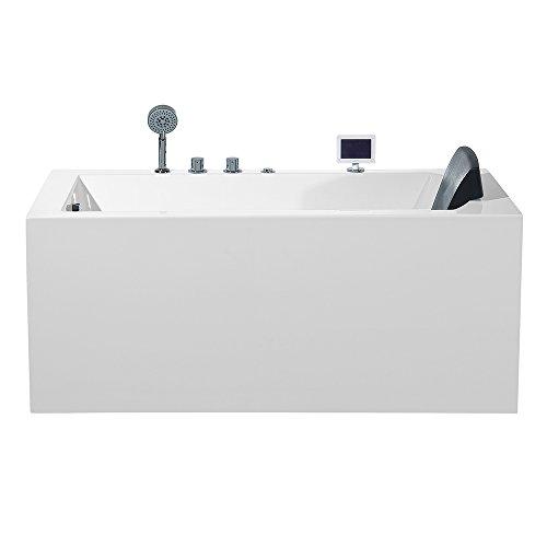 ARIEL Platinum PW1545930LW1 Whirlpool Bathtub 59' x 29.5' x...