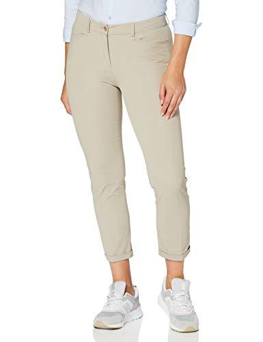 BRAX Damen Style Maron Cotton Blend Slim Fit Modern Hose, Sand, W(Herstellergröße: 48)
