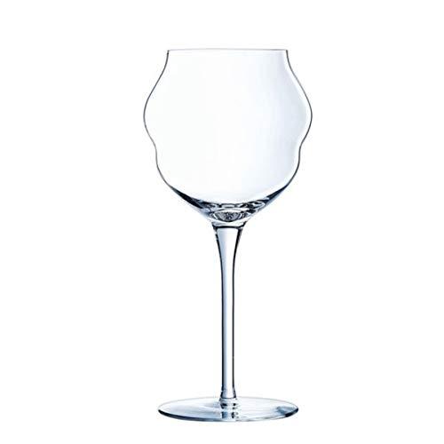 Lot de 24 Verres à Vin Macaron en cristallin - 40 cl