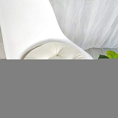 Cojines Cuadradas para Silla,Cojín de Algodón y Lino Cómodos,Cojín de Asiento para Sillas de Oficina Coches Comedor,Cojín de Suelo de Tatami Redondo,Acolchado para Asiento de Jardín 7 45x45CM