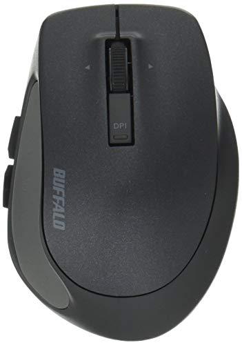 BUFFALO Bluetooth BlueLED プレミアムフィットマウス Sサイズ ブラック BSMBB505SBK