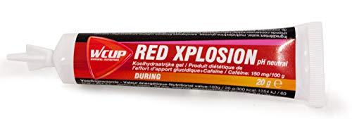 Red Explosion - quick sugar gel at pH neutral with caffeine - cola taste, 20 g.