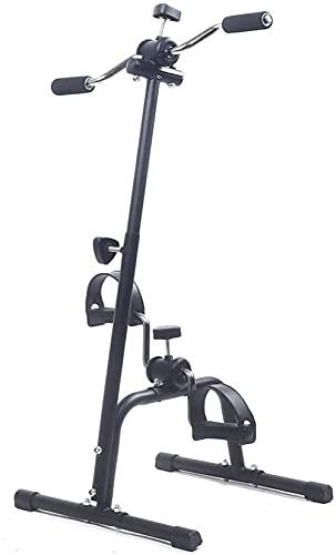 YRHH Mini Bicicleta Estática Plegable Manivela Fitness Bicicleta Cardio Deporte Máquina De Ejercicio para Brazos Piernas Entrenamiento