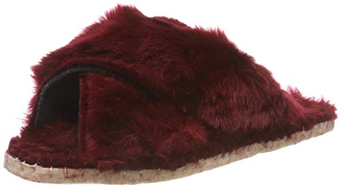 Macarena Damen ISASA73-AM LONGO Pantoffeln, Rot (Burdeos), 36 EU