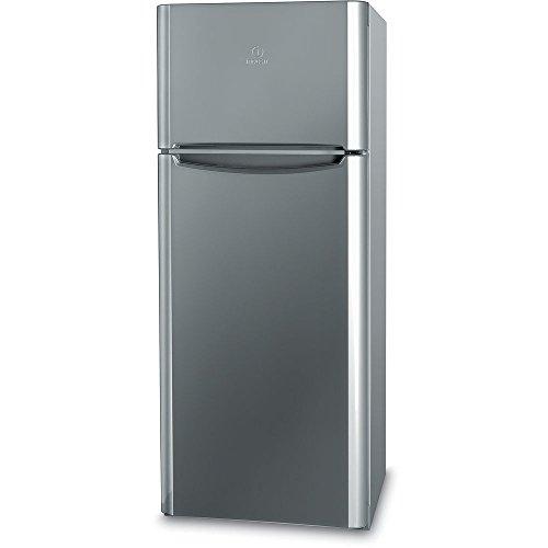 Indesit TIAA 10 X.1 Independiente 252L A+ Acero inoxidable nevera y congelador - Frigorífico (252 L, N-ST, 45 dB, 2 kg/24h, A+, Acero inoxidable)