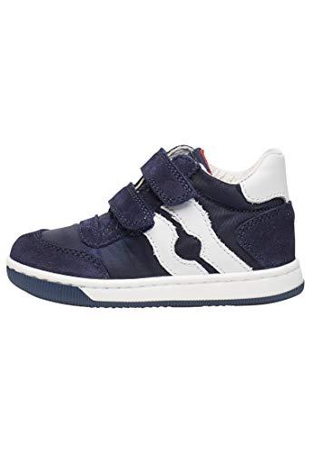 Falcotto Vega VL-Sneaker aus Stoff und Veloursleder-Blau blau 25