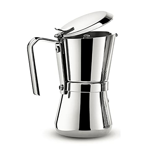 Giannini 104 Espressokocher, Silber
