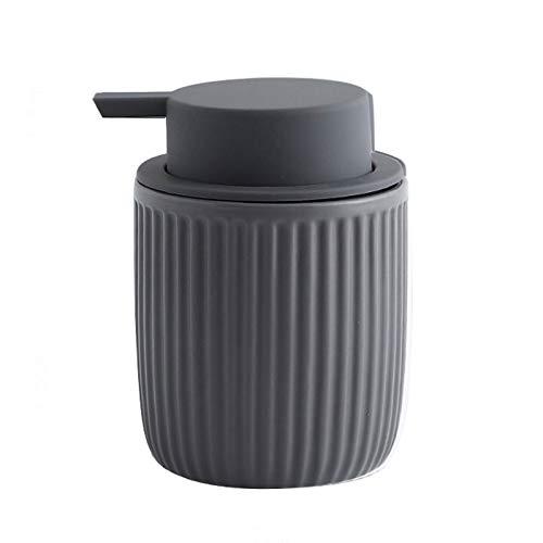 Dispensador de loción Dispensador de loción Dispensador de jabón líquido de cerámica para lavado corporal, champús, cremas, aceites esenciales Botella líquida duradera Hermoso regalo de recinto domést