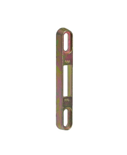FPL #6 Keeper/Strike for Sliding Glass Door Mortise Locks with YZD Plating