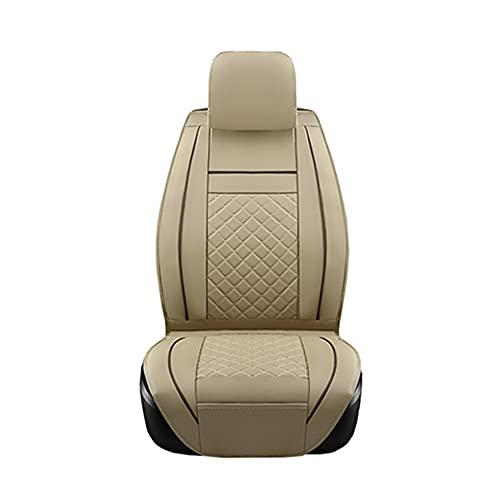 Xiaomu Juego de fundas universales para asientos delanteros, asientos del conductor, asiento del copiloto, fundas de asiento de coche, fundas protectoras para airbag lateral