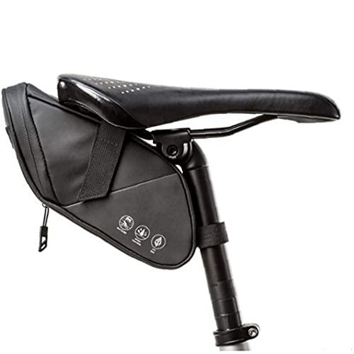 WFIT Cola Sillín De Bicicleta Bolsa De Ciclo Impermeable Bolsa De Sillín De Bicicleta Bolsa De 1.2l De Bicicletas Bolsa para El Teléfono, La Reparación De Herramientas, Mini Bomba De
