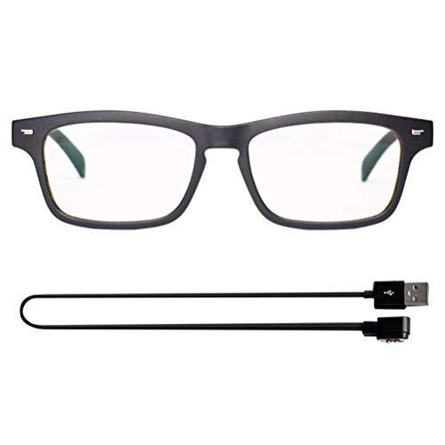 BASOYO Gafas de Sol inalámbricas con Bluetooth, música de oído Abierto y Llamadas con Manos Libres, para Hombres y Mujeres, Lentes polarizados