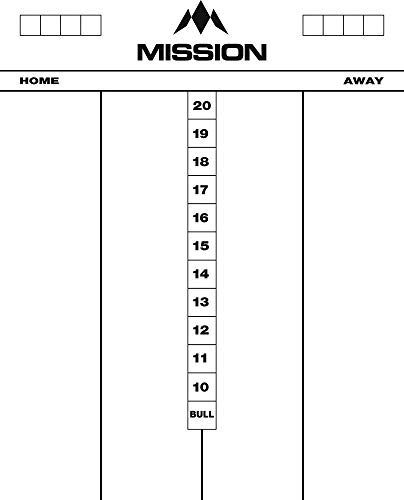 MISSION Whiteboard Cricket - 50x40 cm