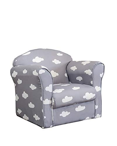 Terrific Sue Ryder Childrens Grey And White Cloud Armchair Tub Chair Patterned Kids Comfy Inzonedesignstudio Interior Chair Design Inzonedesignstudiocom