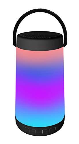 Platinet Shine - Altavoz Bluetooth (5 W, con iluminación LED de Color)