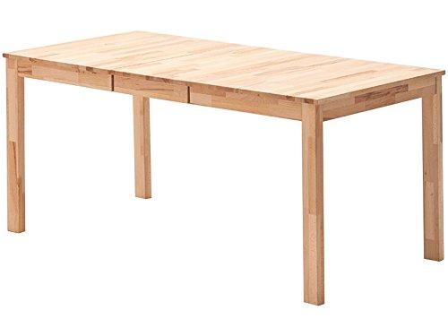 möbelando Esszimmertisch Massivholztisch Speisetisch Tisch Massivholz Tische Maxiv I (Kernbuche massiv/geölt)