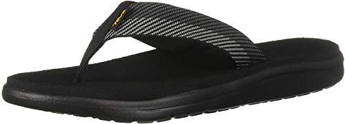 Teva Herren Voya Flip Sandal Mens Pantoffeln, Grau (Vori Black Gray Vgbr), 43 EU