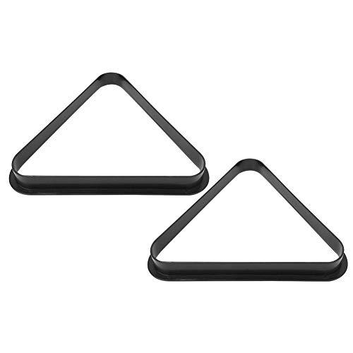 Alomejor 2PCS Snooker Ball Rack Plastic Billiards Triangular Frame Swing Ball Holder...