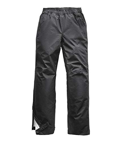 The North Face Men's Venture 2 Half Zip Pant, TNF Dark Grey Heather/Asphalt Grey, Small, Regular