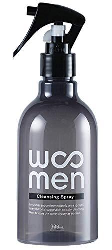 WOOMEN(ウーメン) メンズ 洗顔スプレー 300ml 新感覚 クレンジング スキンケア