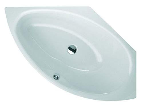 Bette Pool III Badewanne 6057, 160x113x45cm, rechts, Farbe: Weiß mit BetteGlasur Plus