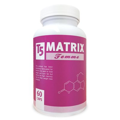 T5 Matrix Femme - Specially Formulated Womans Fat Burners/Appetite Suppressants