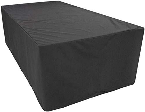 RUXMY Cubierta multifunción para Muebles de Patio Impermeable, Cubiertas para Muebles de jardín, Cubiertas para mesas de Patio, Resistente al Viento, Cubierta Protectora para Muebles de sofá al ai