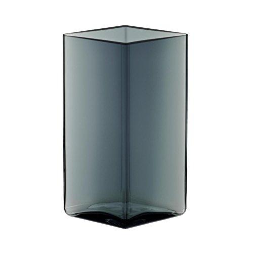 Iittala Ruutu - Vase - 115 x 180 mm - Grau
