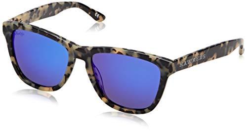 HAWKERS X Gafas de sol, Caramel Carey · Sky, One Size Unisex