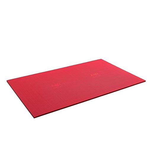 Airex Atlas Tapis de gymnastique Environ Rouge 200 x 125 x 1,5 cm