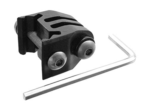 BEGADI Basic Rail Mount für kompatible GoPro und Actionkameras, für Helm, Rail & Bike -schwarz-