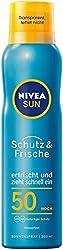 Fettfreie bzw. nicht fettende Sonnencreme - Produkte zum Sonnenbaden ohne zu Verkleben.