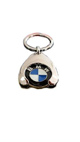 BMW Original Schlüsselanhänger Einkaufs Chip Einkaufswagen Einkaufschip 80272446749 1er 2er 3er 4er 5er 6er 7er X1 X2 X3 X4 X5 X6 (1)