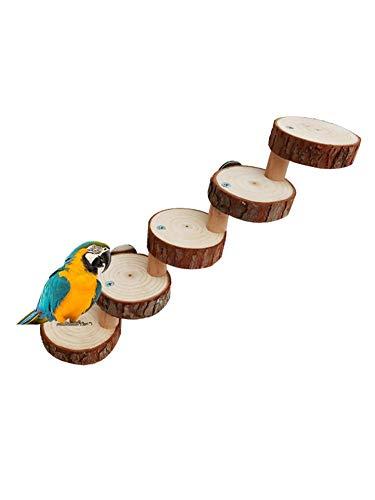 Ritapreaty Papegaai Springbord Klimladder, Hamster Speelgoed Houten Pier Ladder Huisdier Speelgoed Vogel Staande Trap, Kleine Huisdier Ladder